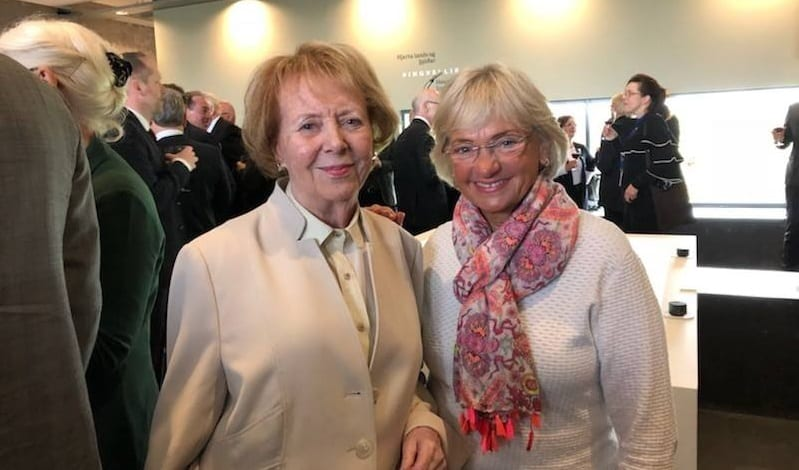 Pia ánægð með heimsóknina til Íslands