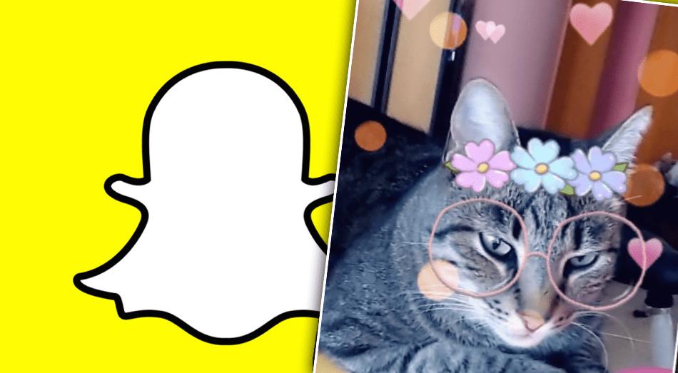 """Snapchat býður nú loksins upp á filtera fyrir ketti: """"Filterar fyrir svala ketti"""""""