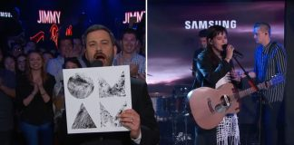 Of Monsters and Men kom fram í beinni útsendingu hjá Jimmy Kimmel