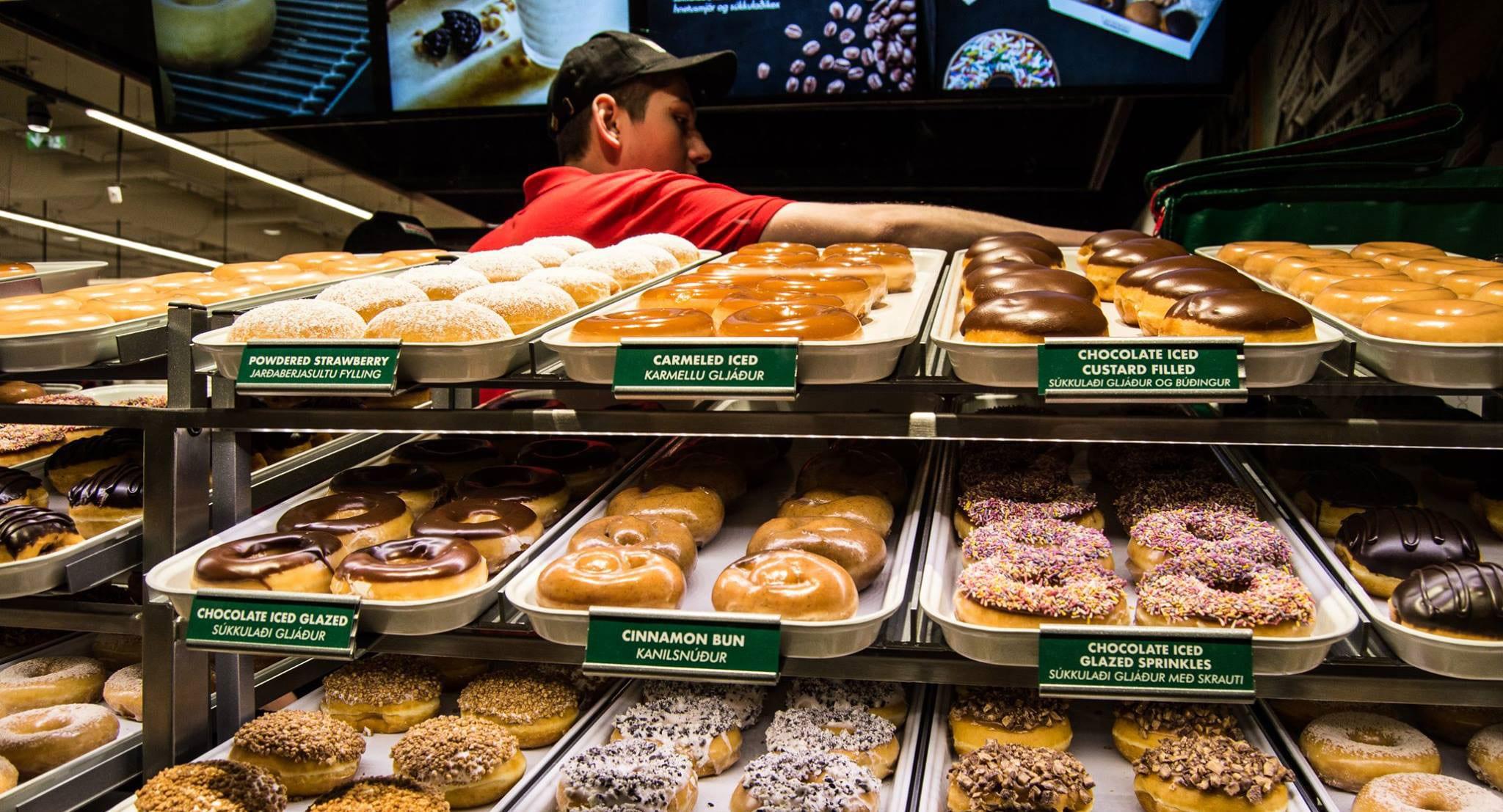 Krispy Kreme yfirgefur Ísland