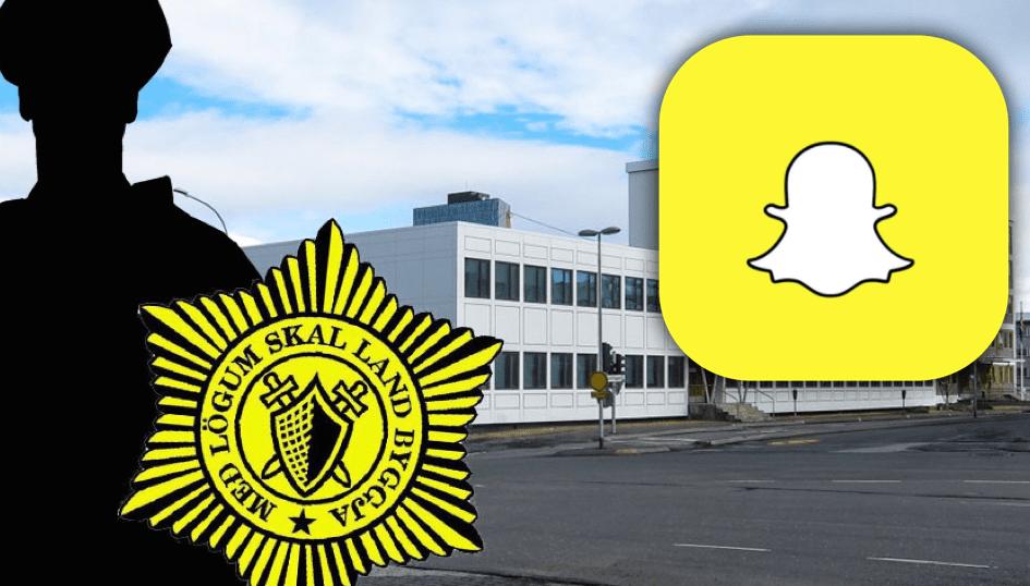 """Lögreglumaður dæmdur fyrir Snapchat skilaboð: """"Litla fokking hóran þin Þúrt hóra"""""""