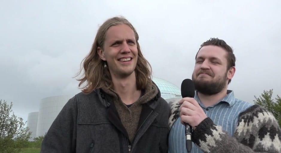 """Daði Freyr og Tommi rifja upp grunnskólaárin: """"Hvaða fokking pappakassi er þetta"""""""