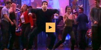 Monica og Ross dansa við What Do You Mean með Justin Bieber