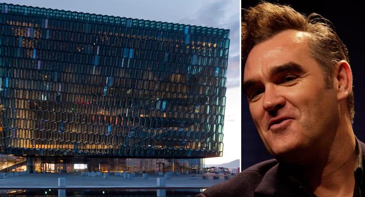Morrissey hættir við að spila á Íslandi: Kjötsala í Hörpu gerði útslagið