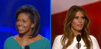 Melania Trump stal ræðu Michelle Obama