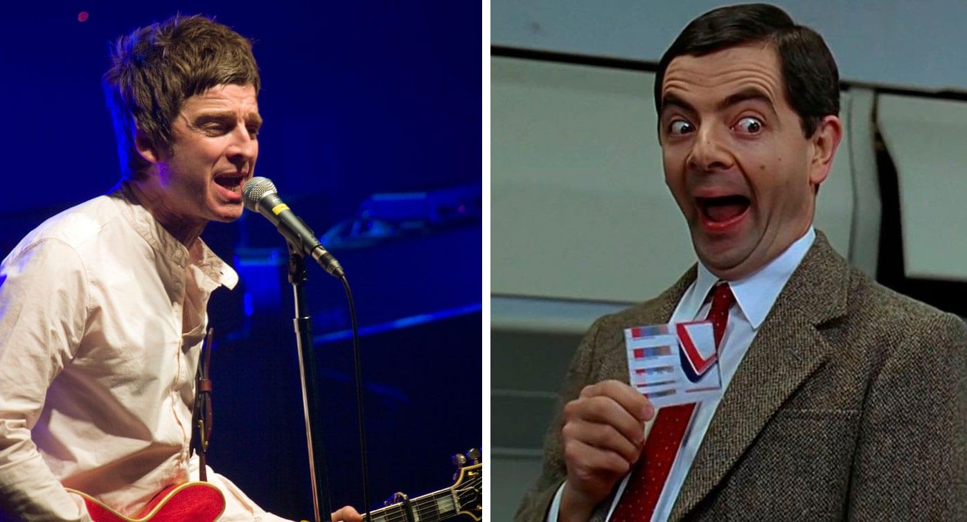 Liam Gallagher vill að Mr. Bean leiki bróður sinn í kvikmynd um Oasis