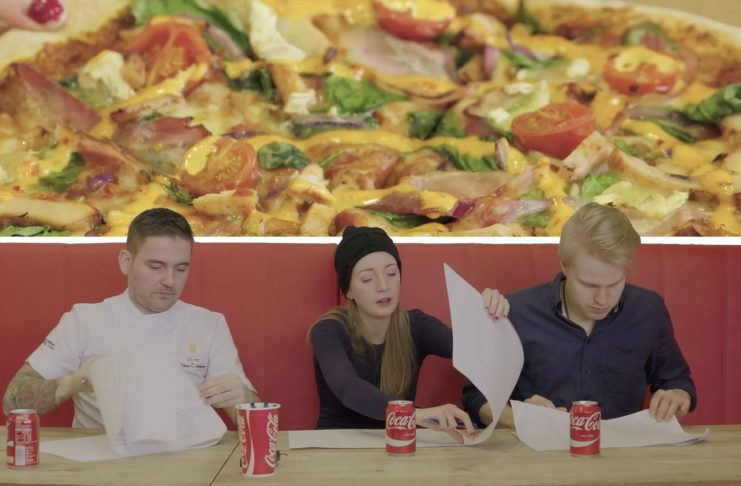 Sjáðu dómnefnd velja fimm pizzur í úrslit Óskapizzu þjóðarinnar