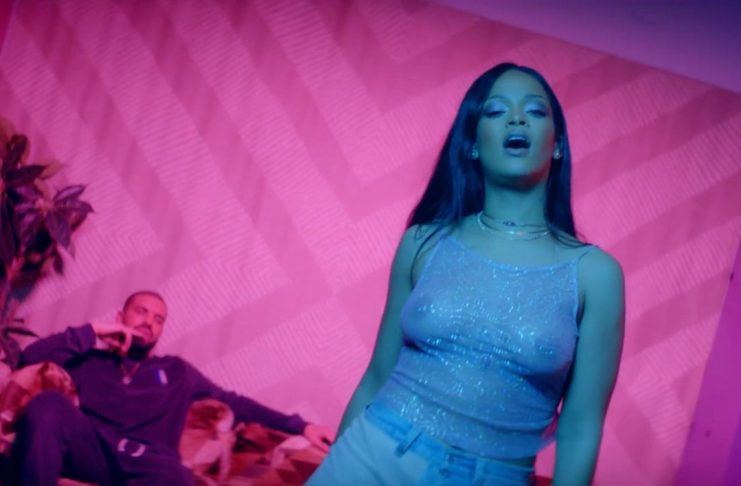 Rihanna og Drake stíga villtan dans í nýju myndbandi við lagið Work