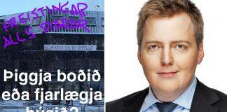 Sigmundur Davíð bregst við vöffluboðinu með léttu spaugi á Snapchat
