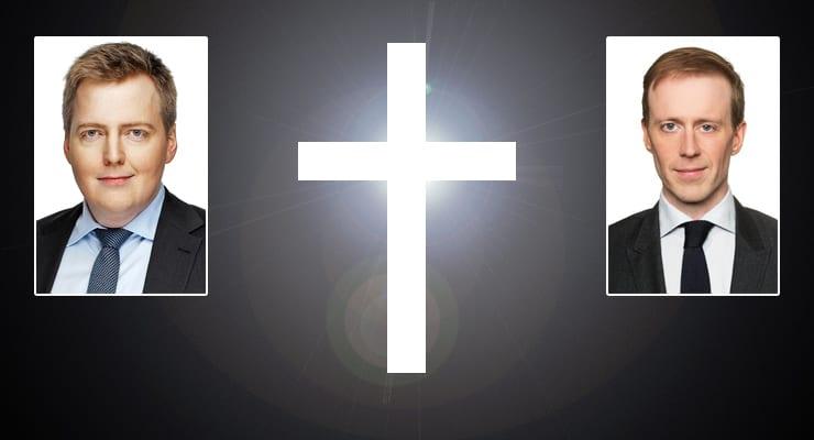 Efnahagsráðgjafi Sigmundar sonur biskups Íslands