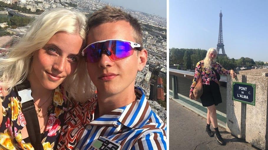 Jóhann Kristófer og Alma trúlofuðu sig í París