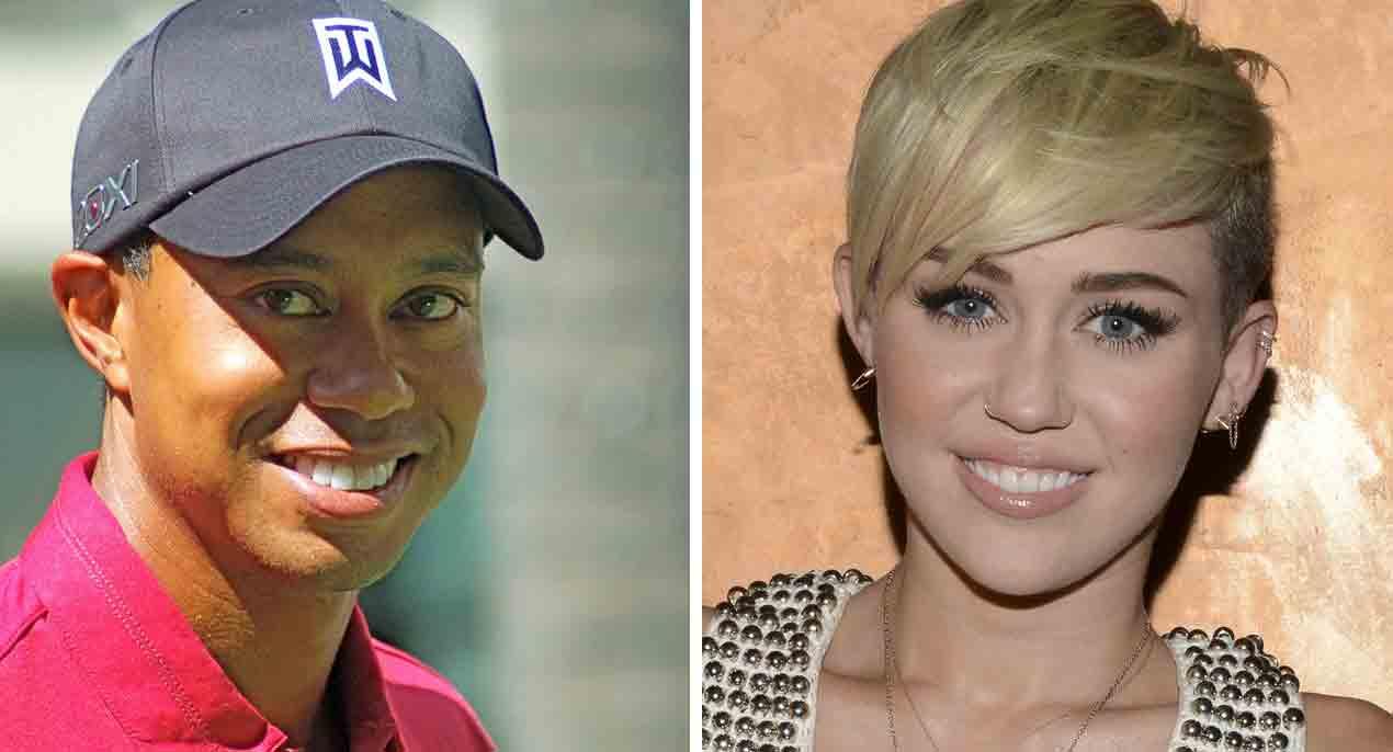 Nektarmyndum af Tiger Woods