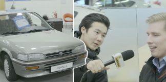 24 ára Toyota Corolla til sölu á milljón