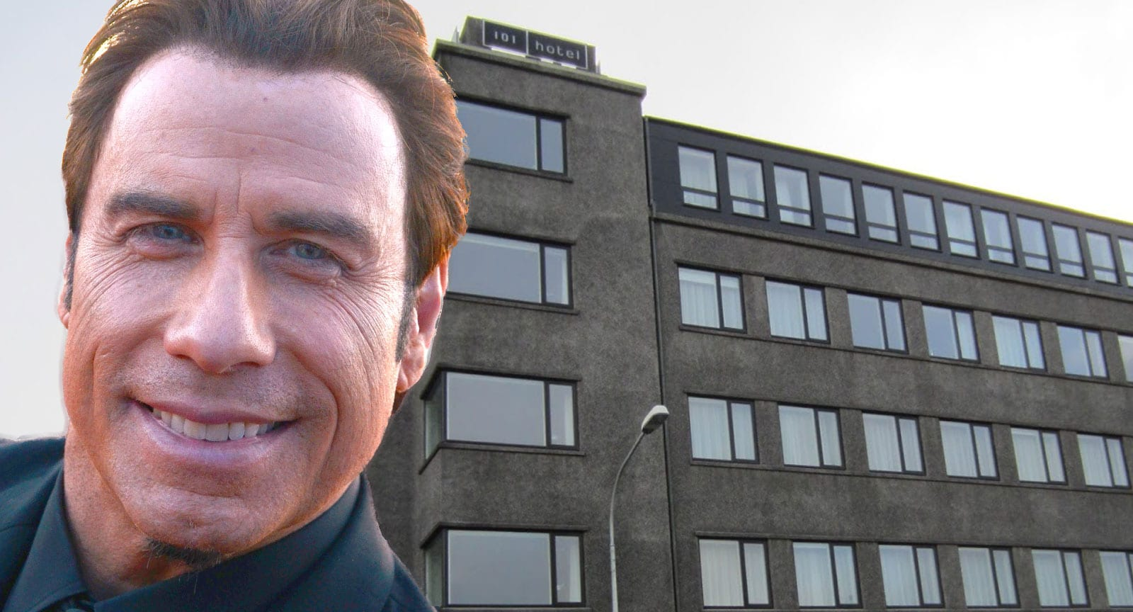 John Travolta á Íslandi