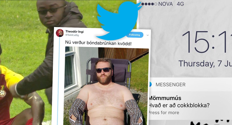 """17 fyndnustu tíst vikunnar: """"Hví heita börnin ykkar ekki Filip og Berio"""""""