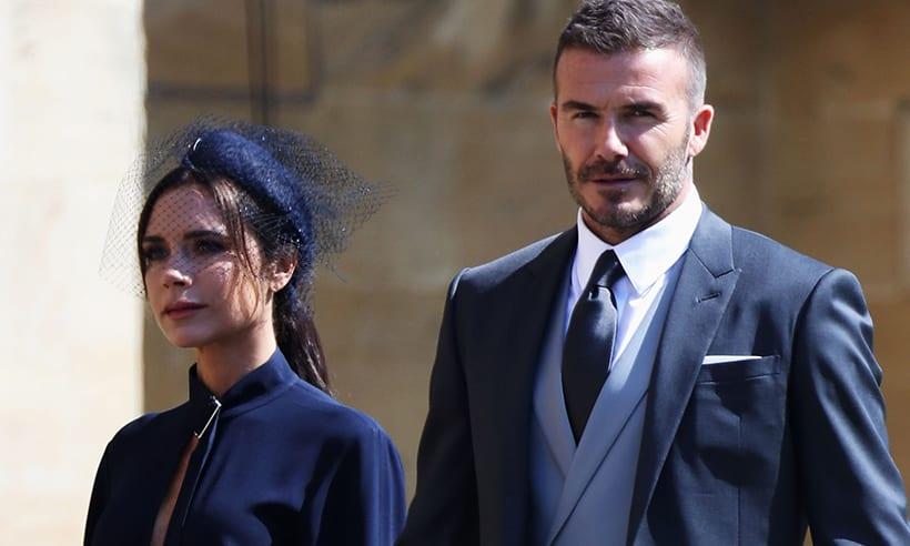 Beckham-hjónin gefa brúðkaupsfötin