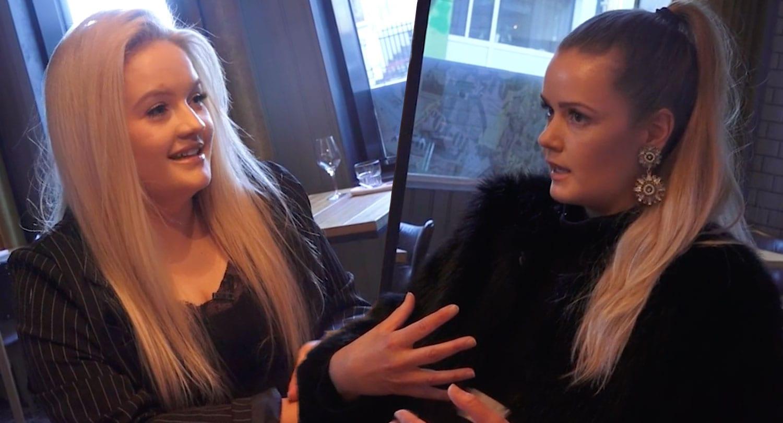 """Camilla Rut og Lína Birgitta ræða samfélagsmiðla: """"Ef þú ert ekki hreinskilinn"""