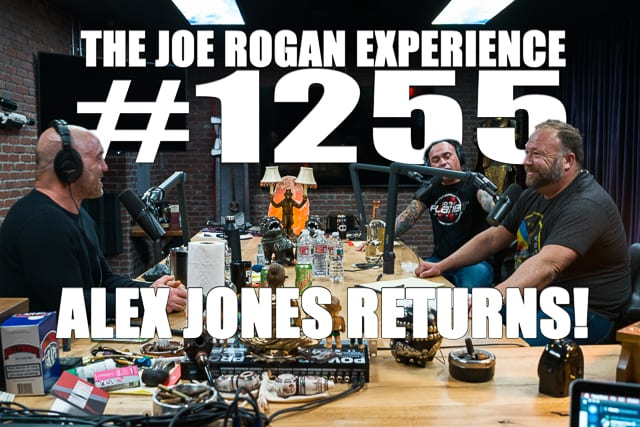 Alex Jones snýr aftur í þátt Joe Rogan