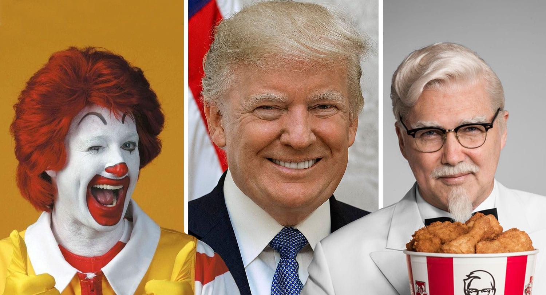 KFC notar kjarnorkutíst Donalds Trump til að skjóta föstum skotum á McDonald's