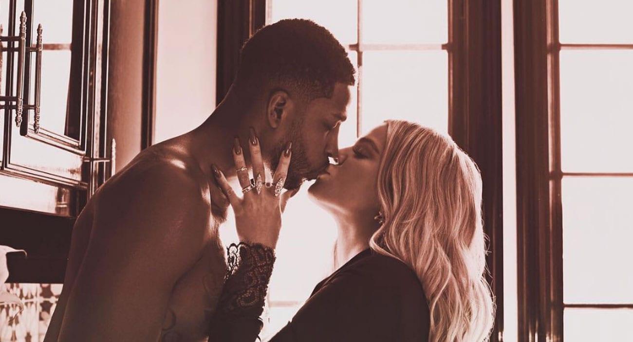 Khloe Kardashian og Tristan Thompson eignast stúlku í skugga framhjáhalds