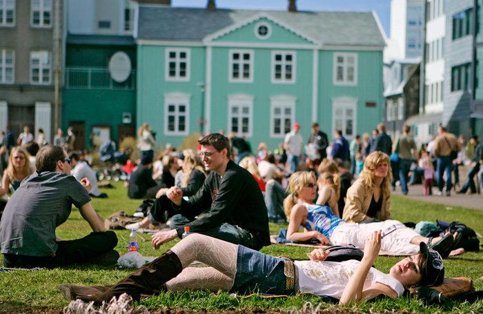 Hitabylgja í Reykjavík í næstu viku
