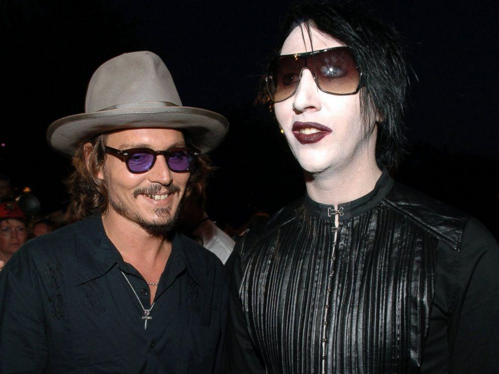 Johnny Depp er ÓGNVEKJANDI í nýju tónlistarmyndbandi hjá Marilyn Manson! - Myndband