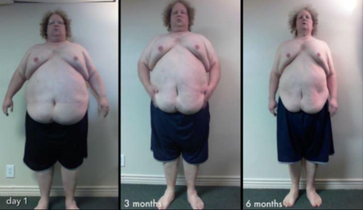 Hann missti 136 kg á rúmlega EINU ári - Ótrúleg saga! - MYNDBAND