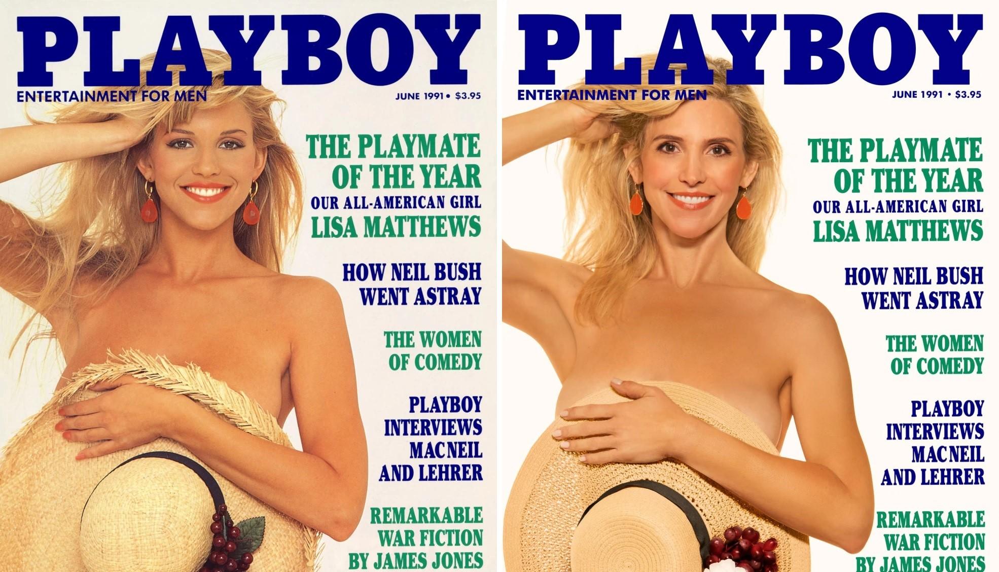 7 Playboy kanínur endurgerðu forsíðumyndirnar sínar 30 árum síðar! - MYNDIR