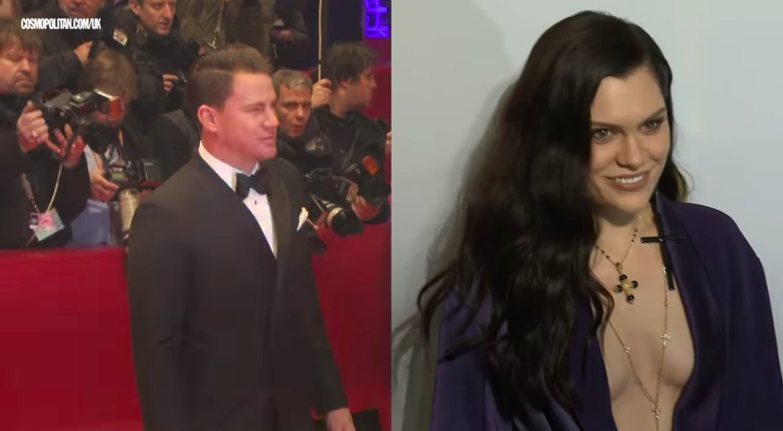 Jessie J og Channing Tatum stödd á Íslandi