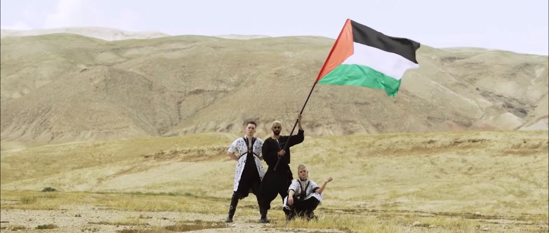 Hatarar gefa út nýtt lag ásamt palestínskum listamanni - Sjáðu myndbandið