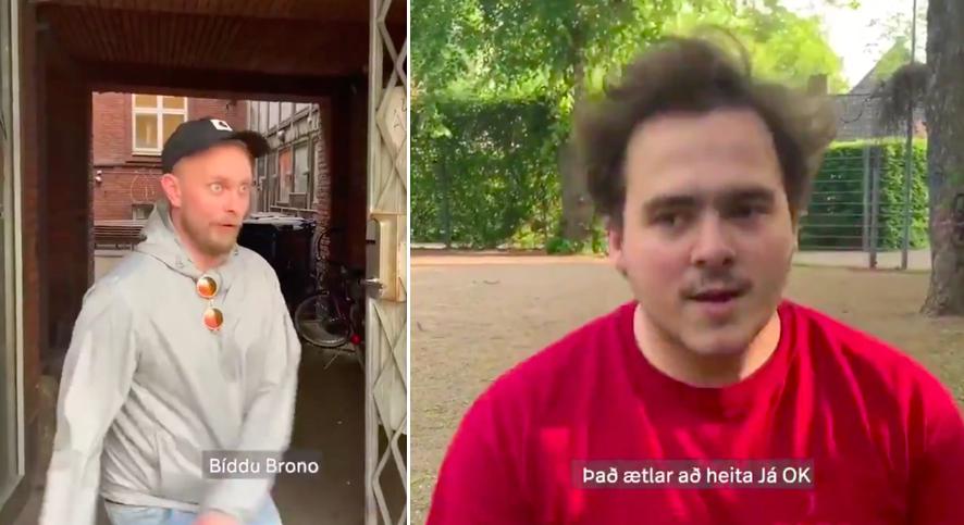 Vilhelm Neto og Fjölnir byrja með sitt eigið hlaðvarp