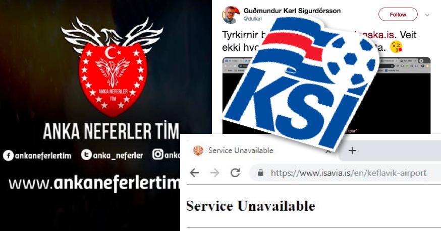 Ráðist á heimasíðu Knattspyrnusambands Íslands