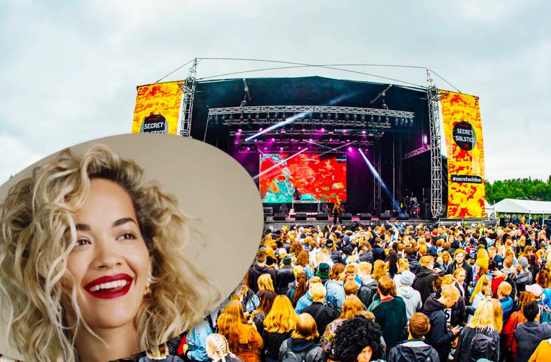 """Óvíst hvort Rita Ora komi fram á Secret Solstice: """"Þetta er bara ömurlegt"""""""