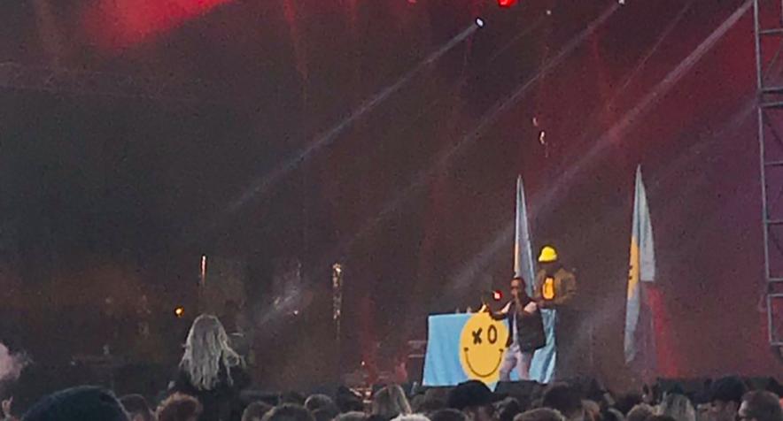 Aron Can kom fram með Black Eyed Peas á rosalegum tónleikum á Secret Solstice