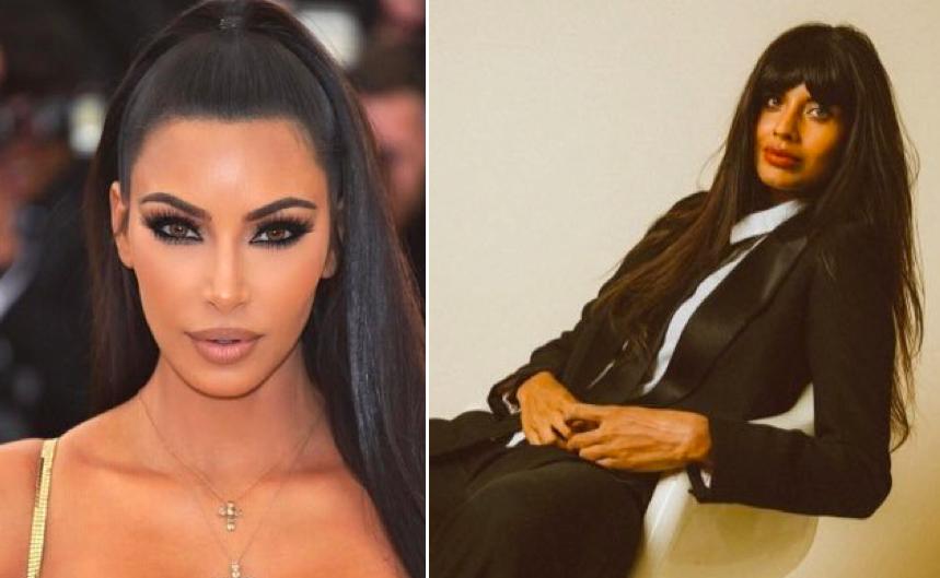 Jameela Jamil gáttuð á nýjum líkamsfarða Kim Kardashian