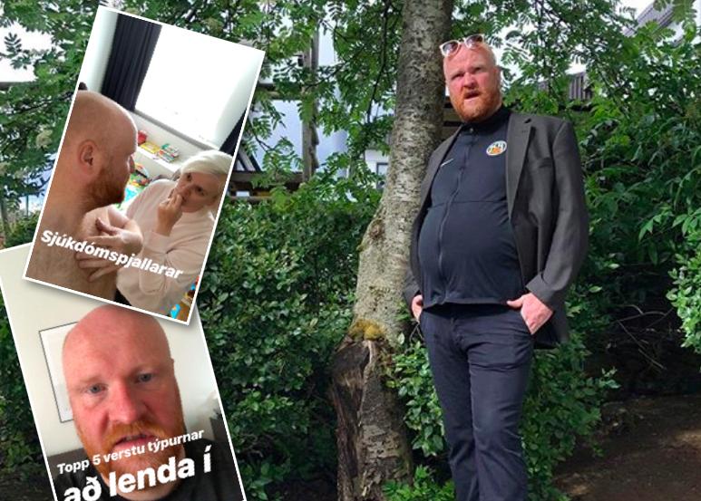 Hjálmar Örn leikur fimm verstu týpurnar til að lenda á spjalli við í sprenghlægilegu myndbandi