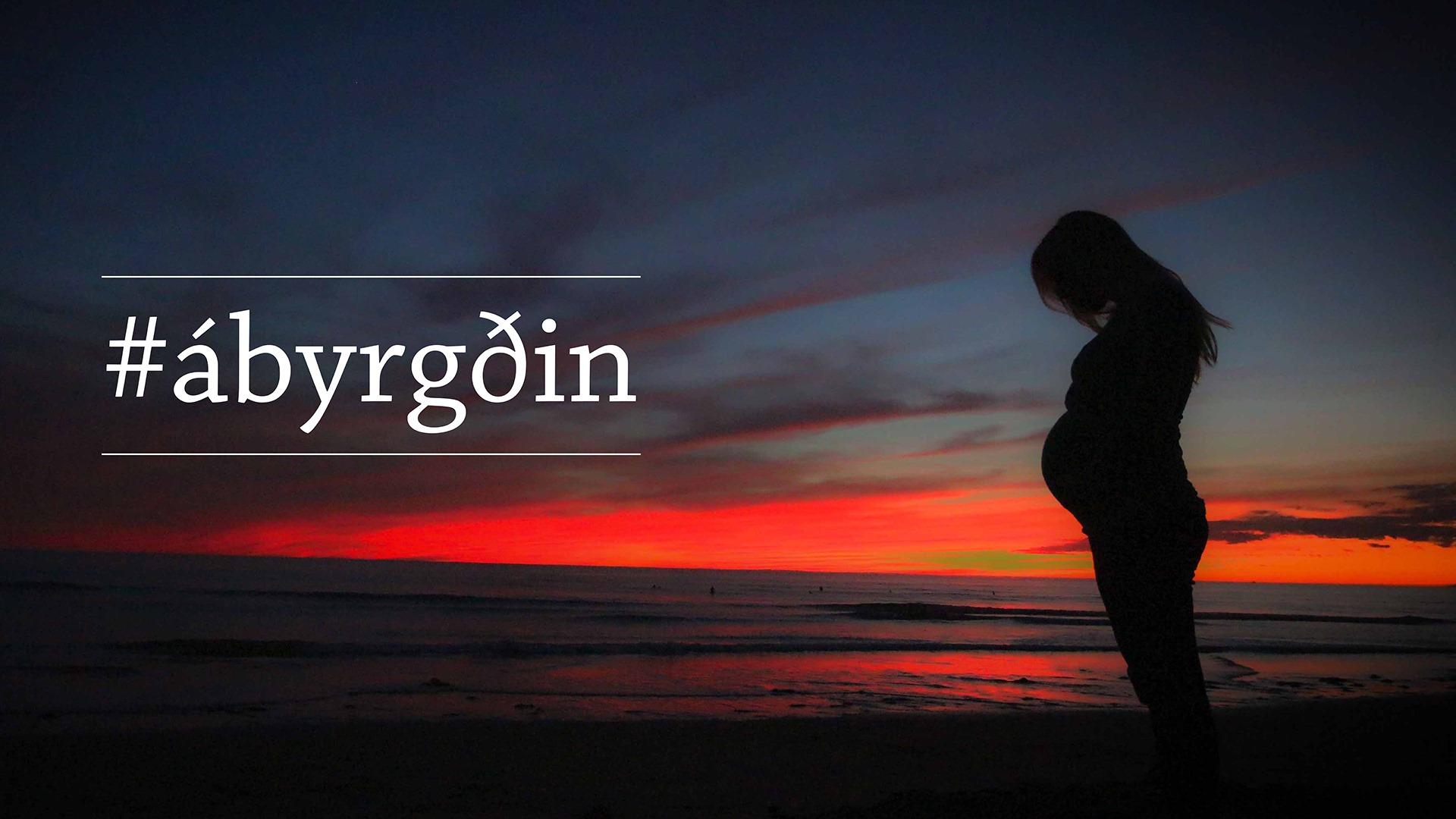 Herferðin #ábyrgðin fer af stað á morgun: Deila reynslu sinni af meðgöngu