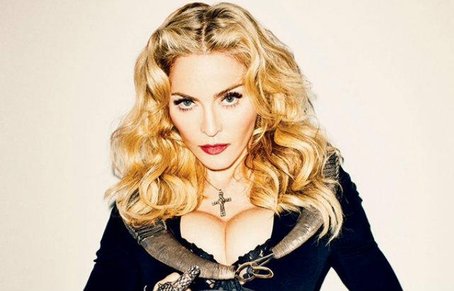 Madonna sat fyrir nakin þegar hún var tvítug - MYNDIR