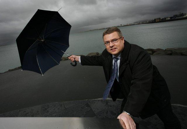 Þeir voru sjúklega glaðir að hitta Sigga Storm á DJAMMINU! - En það var eitthvað bogið við þetta!