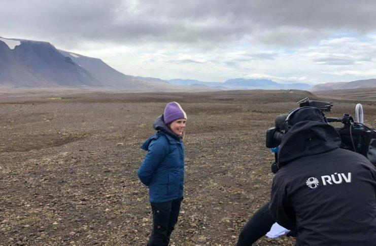Erlendir miðlar fjalla um jarðarför Okjökuls