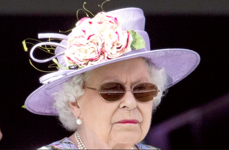 Drottningin hefur sett bann á plast rör í Buckinghamhöll