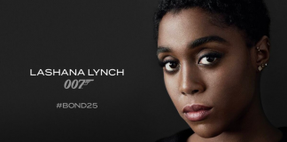 Lashana Lynch mun leika 007 í næstu Bond mynd