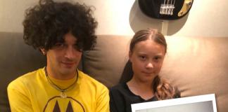 """Greta Thunberg og 1975 gefa út lag saman: """"Allt verður að breytast og það verður að gerast í dag"""""""