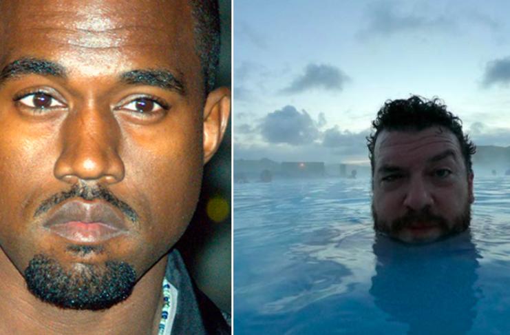 Kanye West vill fá Danny McBride til að leika sig