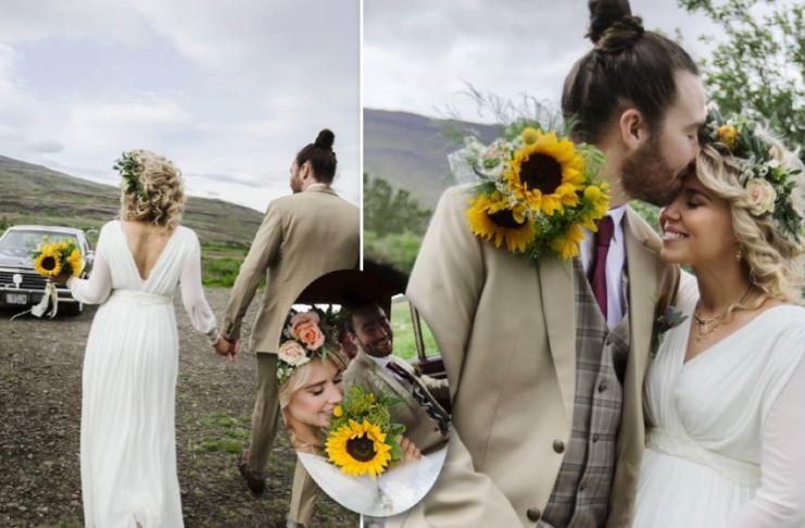 """Salka Sól og Arnar Freyr giftu sig um helgina: """"Fullkominn dagur"""""""