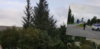 Tveir menn slösuðust eftir að hafa orðið fyrir bíl á Akureyri