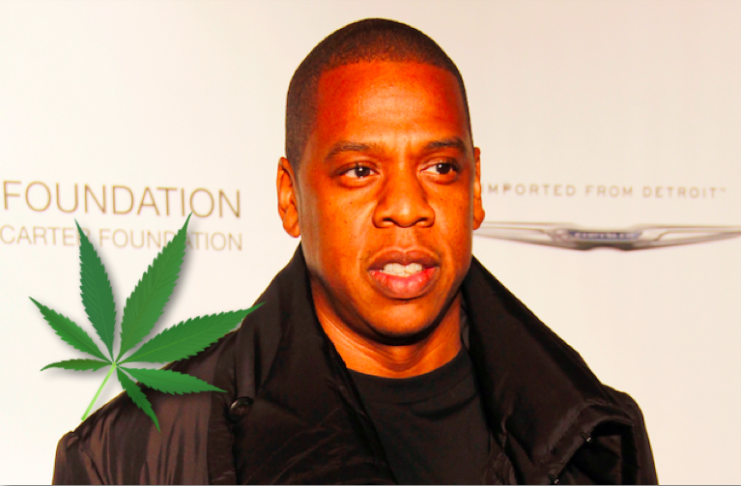 Jay-Z selur gras