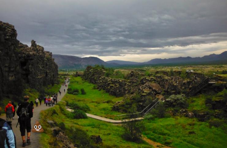 """Níu óþolandi hlutir sem túristar gera á Íslandi: """"Ég vil frekar að þú kúkir í garðinn hjá mér"""""""