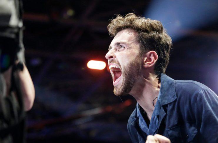 Eurovision fer fram í Rotterdam