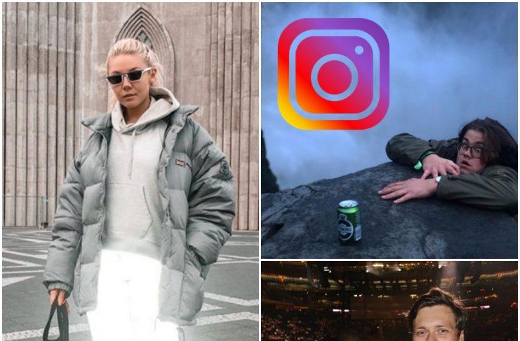 """Myndirnar sem slógu í gegn á Instagram um helgina:""""Who did it better?"""""""